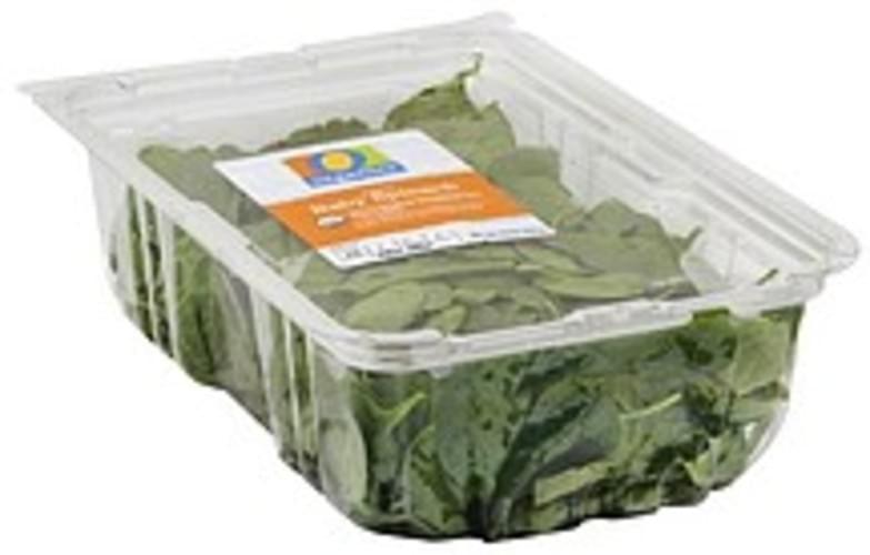 O Organics Organic, Baby Spinach - 10 oz