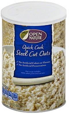 Open Nature Oats Steel Cut, Quick Cook