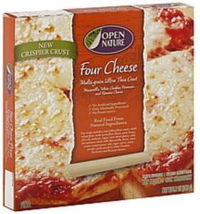 Open Nature Pizza Multi-Grain Ultra Thin Crust, Four Cheese