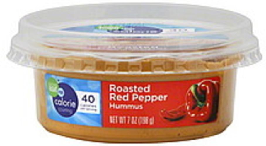 Eating Right Roasted Red Pepper Hummus - 7 oz