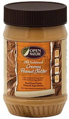 Open Nature Peanut Butter Old Fashioned, Creamy