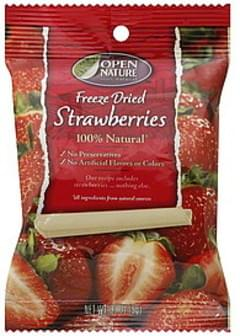 Open Nature Strawberries Freeze Dried