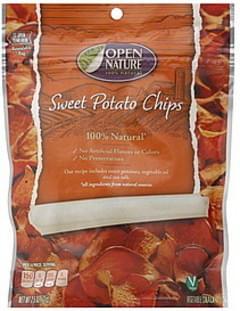 Open Nature Sweet Potato Chips
