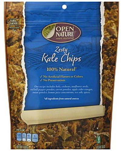 Open Nature Zesty Kale Chips - 2 oz
