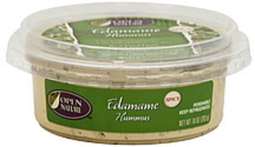 Open Nature Edamame, Spicy Hummus - 10 oz