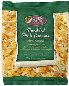 Open Nature Hash Browns Shredded