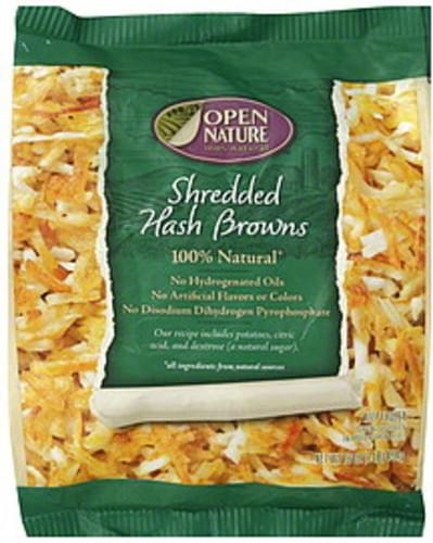 Open Nature Shredded Hash Browns - 16 oz
