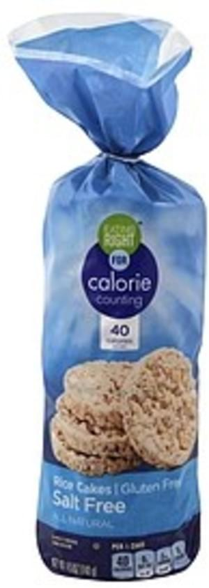 Eating Right Salt Free Rice Cakes - 4.9 oz