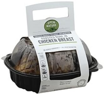 Open Nature Chicken Breast Bone In, Roasted