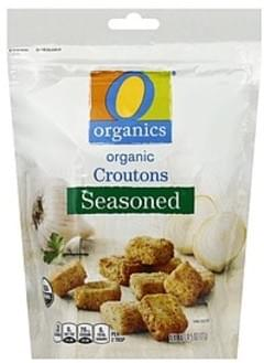 O Organics Croutons Organic, Seasoned