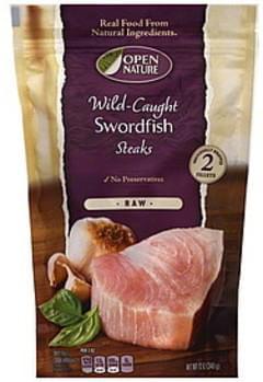 Open Nature Swordfish Steaks Wild Caught