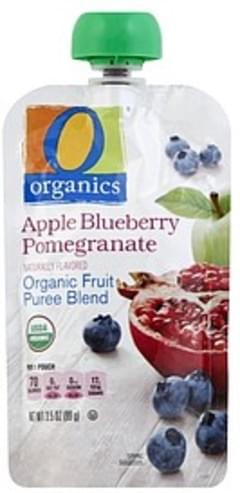 O Organics Fruit Puree Blend Organic, Apple Blueberry Pomegranate