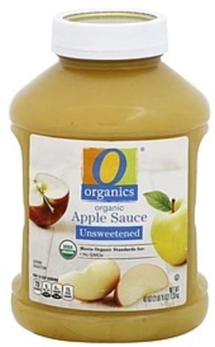 O Organics Organic, Unsweetened Apple Sauce - 47 oz
