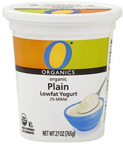 O Organics Lowfat, Organic, Plain Yogurt - 27 oz
