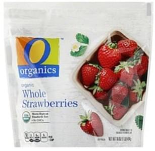 O Organics Strawberries Organic, Whole