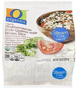 O Organics Quinoa with Brown Rice Mediterranean Style, Organic