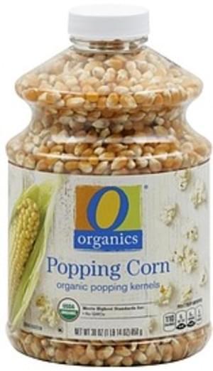 O Organics Popping Corn - 30 oz