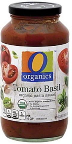 O Organics Pasta Sauce Organic, Tomato Basil
