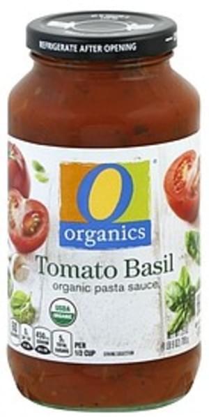 O Organics Organic, Tomato Basil Pasta Sauce - 25 oz