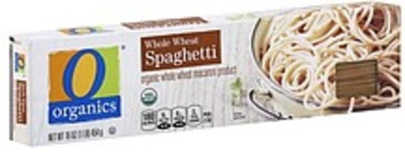 O Organics Spaghetti Whole Wheat
