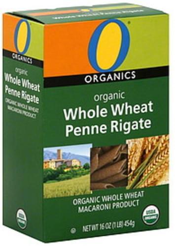 O Organics Organic Whole Wheat Penne Rigate - 16 oz