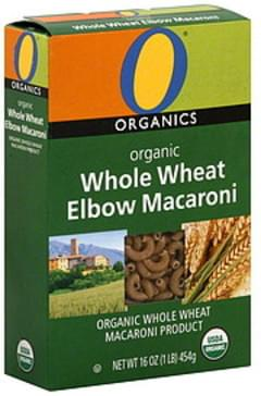 O Organics Elbow Macaroni Whole Wheat, Organic