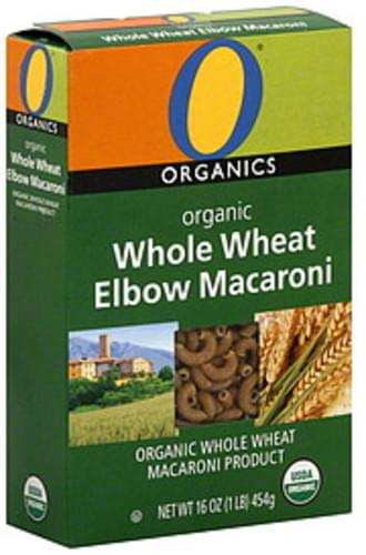 O Organics Whole Wheat, Organic Elbow Macaroni - 16 oz