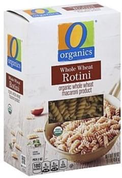 O Organics Rotini Whole Wheat