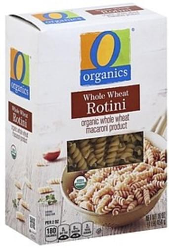 O Organics Whole Wheat Rotini - 16 oz