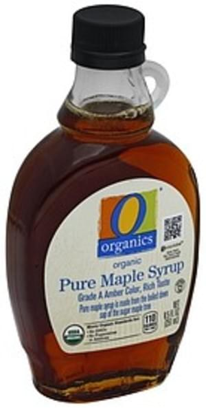 O Organics Organic Pure Maple Syrup - 8.5 oz