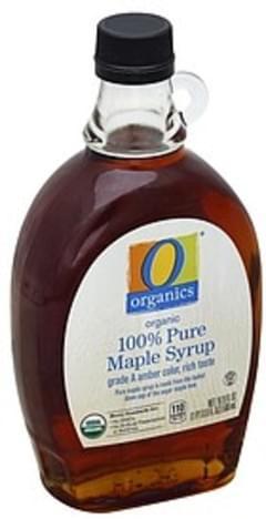 O Organics Maple Syrup Organic, 100% Pure