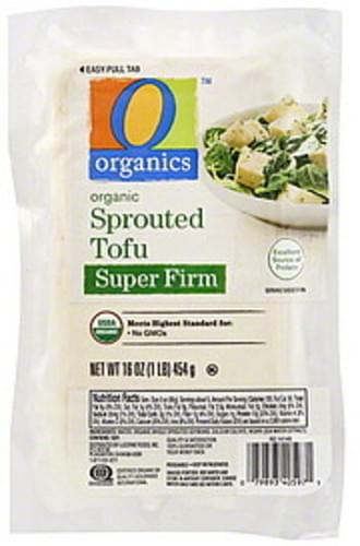 O Organics Sprouted, Super Firm, Organic Tofu - 16 oz