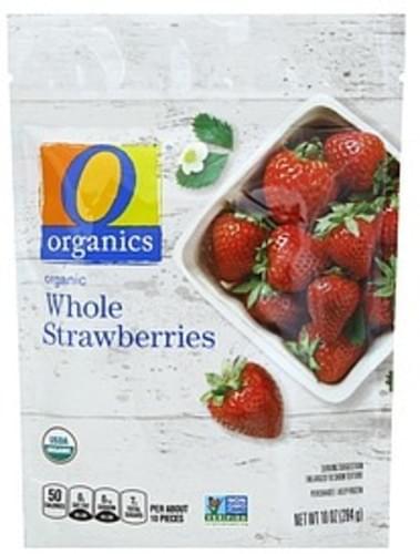 O Organics Organic, Whole Strawberries - 10 oz