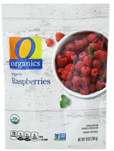 O Organics Raspberries - 10 oz