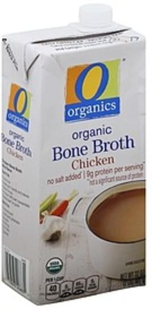 O Organics Organic, Chicken Bone Broth - 32 oz