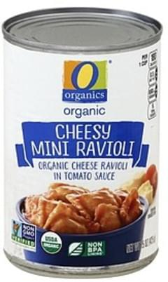 O Organics Cheesy Mini Ravioli Organic