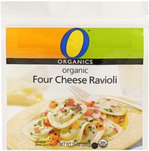 O Organics Organic, Four Cheese Ravioli - 10 oz