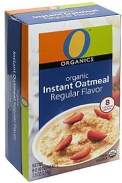 O Organics Instant Oatmeal Organic, Regular Flavor