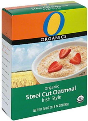 O Organics Organic, Irish Style Steel Cut Oatmeal - 30 oz