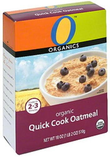 O Organics Organic Quick Cook Oatmeal - 18 oz