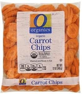 O Organics Carrot Chips Organic