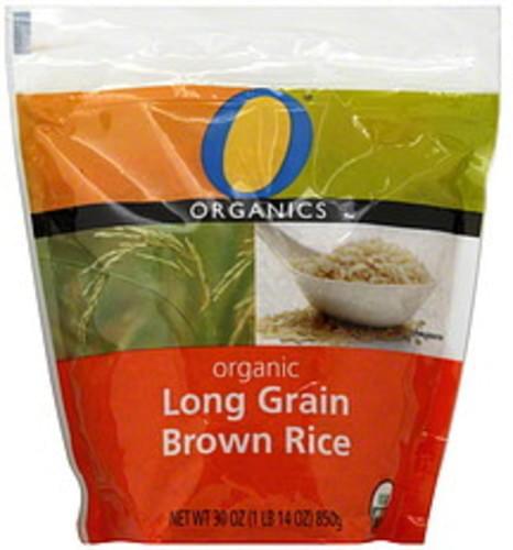 O Organics Organic Long Grain Brown Rice - 30 oz