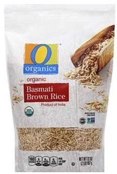 O Organics Rice Organic, Brown, Basmati