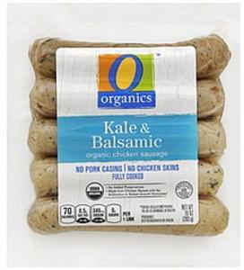 O Organics Chicken Sausage Organic, Kale & Balsamic