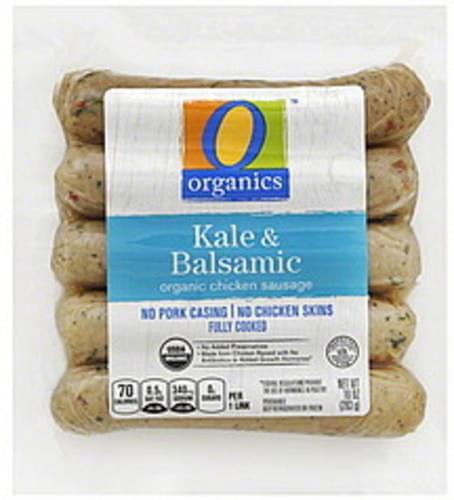 O Organics Organic, Kale & Balsamic Chicken Sausage - 10 oz