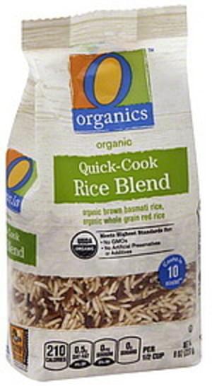 O Organics Quick-Cook Rice Blend - 8 oz