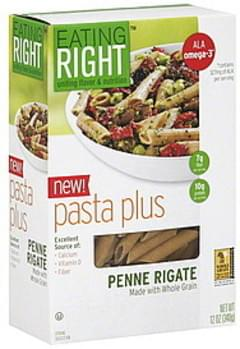 Eating Right Pasta Plus Penne Rigate