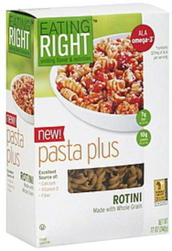 Eating Right Rotini Pasta Plus - 12 oz