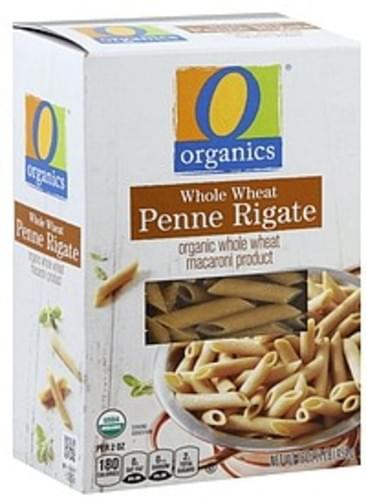 O Organics Organic, Whole Wheat Penne Rigate - 16 oz