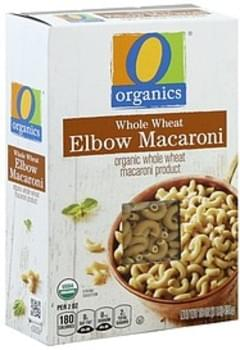 O Organics Elbow Macaroni Organic, Whole Wheat